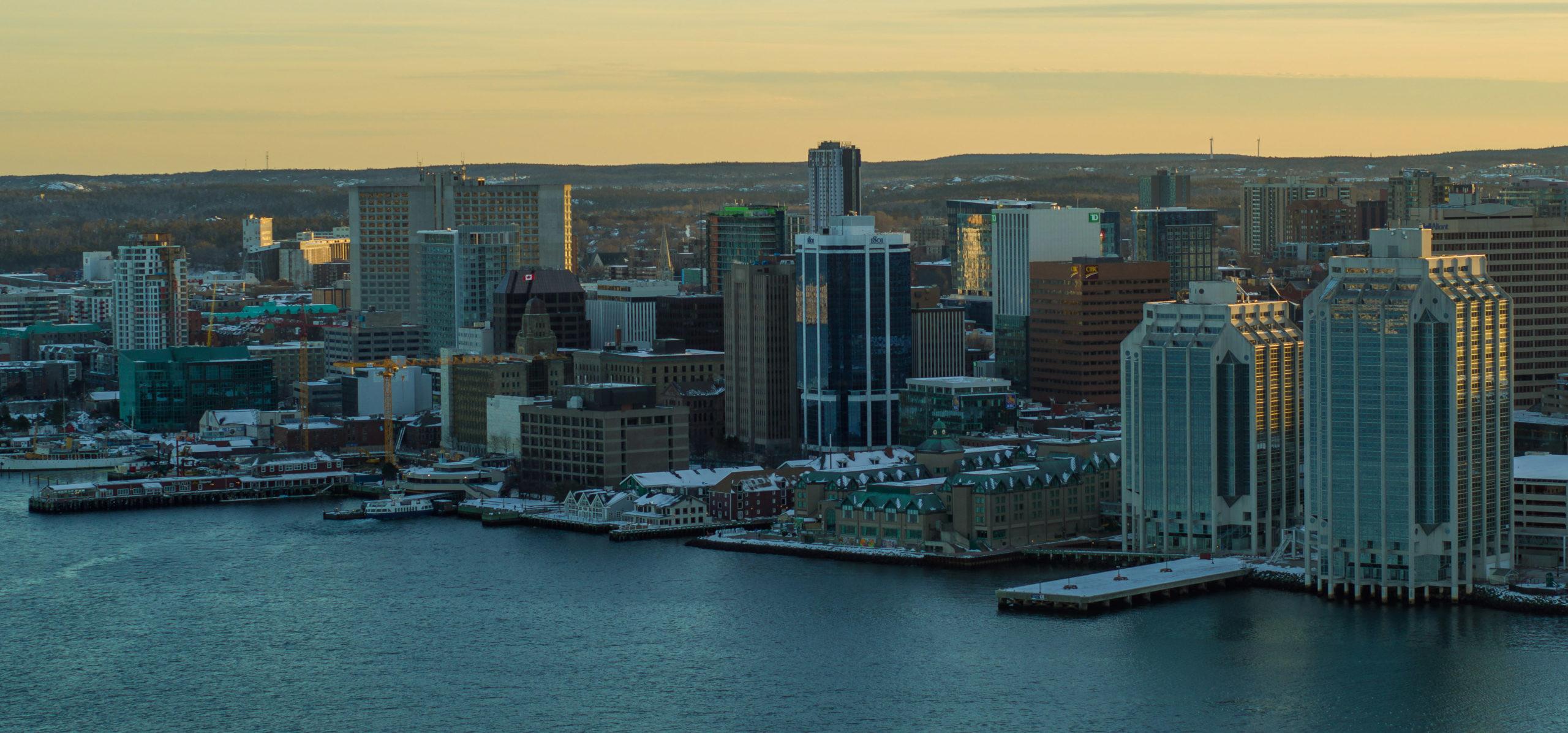 Halifax in Winter